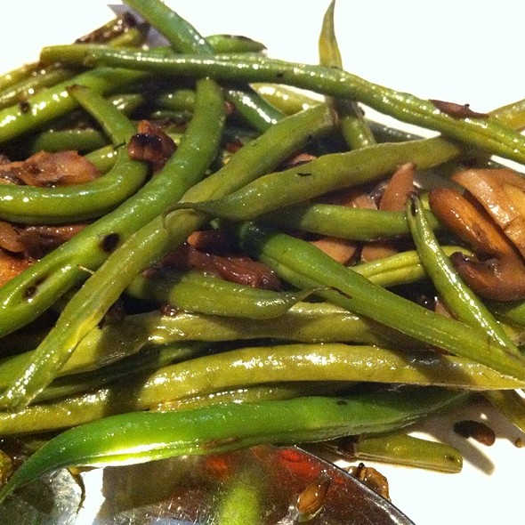 Sauteed Green Beans - Fleming's Steakhouse - La Jolla, San Diego, CA