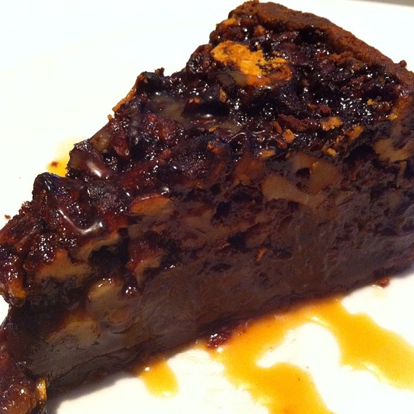 Walnut Turtle Pie - Fleming's Steakhouse - La Jolla, San Diego, CA