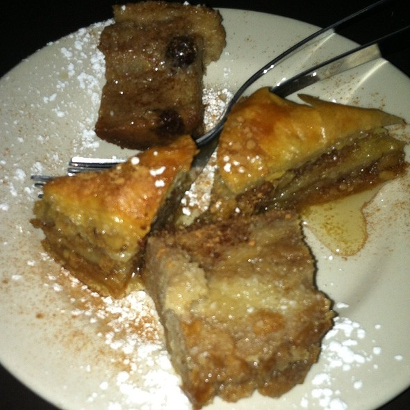 Greek Pastries - Taverna Plaka, Atlanta, GA