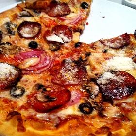 diablo pizza - Nundini Chef's Table, Houston, TX
