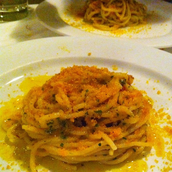 Spaghetti With Bottarga - La Ciccia, San Francisco, CA