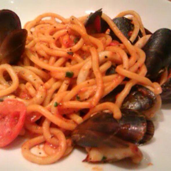 Spaghetti Chitarra Alla Pescatora - Zizzi - Paddington Street, London