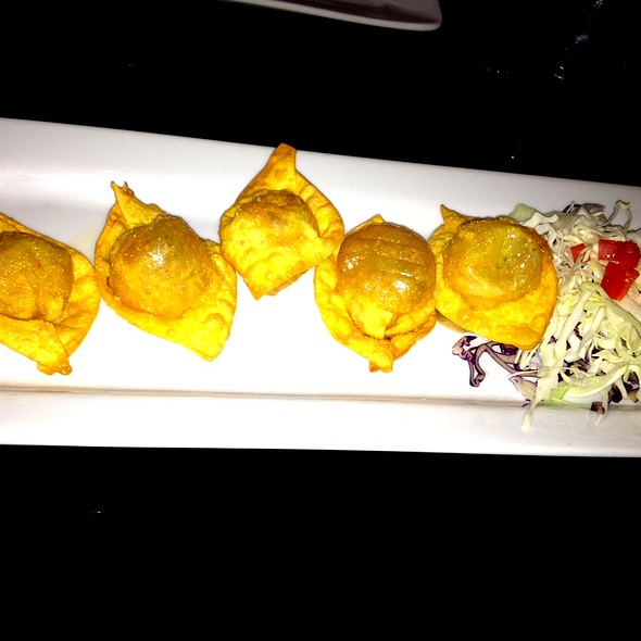 Wasabi-Bleu Cheese Crab Rangoon - Asian Spice, Washington, DC
