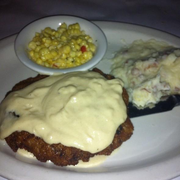 Pan Fried Steak - Taylor's Steakhouse - La Canada, La Canada Flintridge, CA