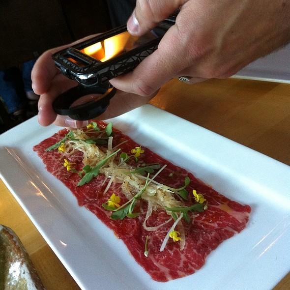Wagyu Beef Carpaccio - Sushi Ran, Sausalito, CA