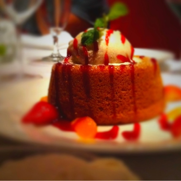 Warm Buttercake - Mastro's Steakhouse - Costa Mesa, Costa Mesa, CA