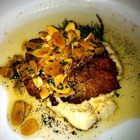 Trout Amandine - Restaurant Iris, Memphis, TN