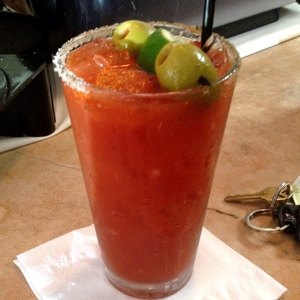 Spicy Bloody Mary - Beaumont's, San Diego, CA