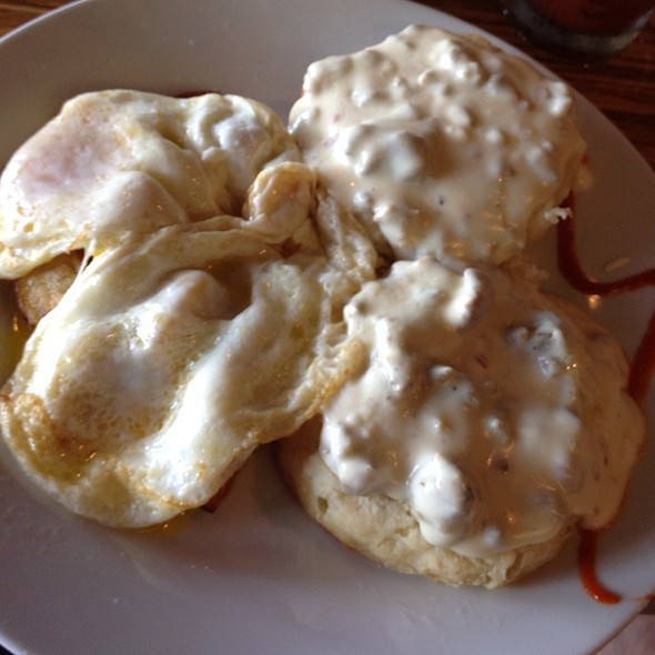 Biscuits and Gravy - LuLu's, Richmond, VA