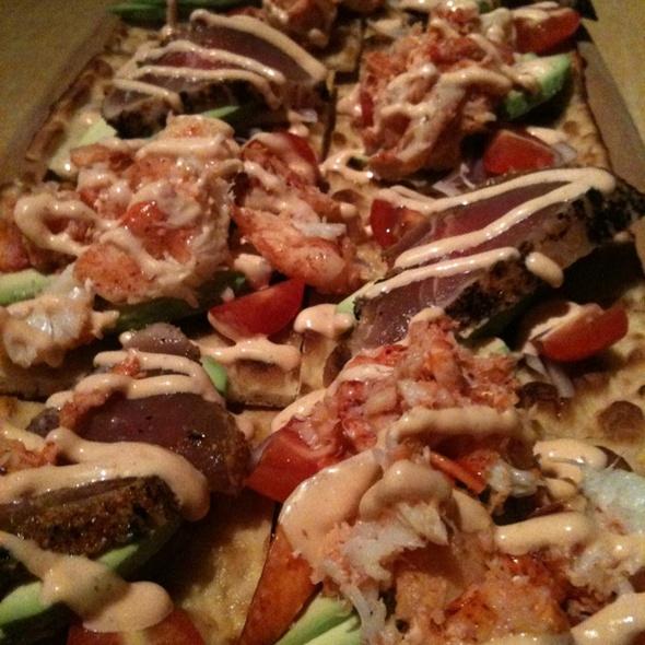 Lobster Ahi Flatbread - Kona Grill - Stamford, Stamford, CT
