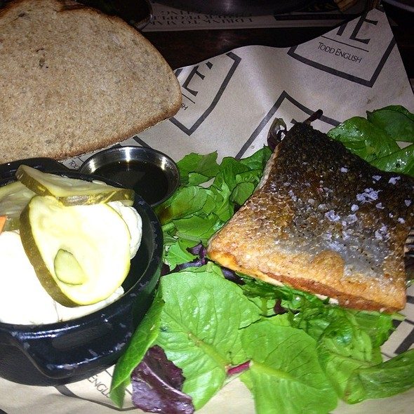 Pan Seared Salmon  - The Pub - Aria, Las Vegas, NV