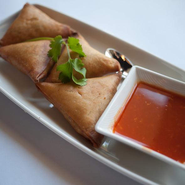 Samosas - Rangoon Ruby Burmese Cuisine - Palo Alto, Palo Alto, CA