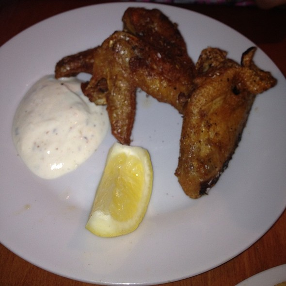 Chicken Wings - Cafe Aion, Boulder, CO