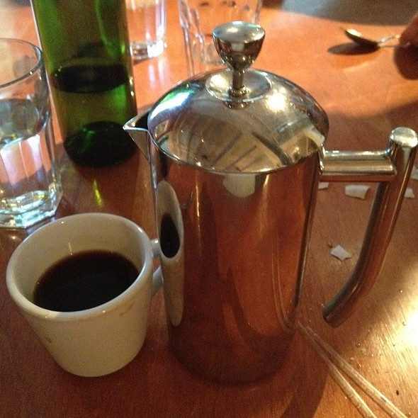 French Press Coffee - Cafe Aion, Boulder, CO
