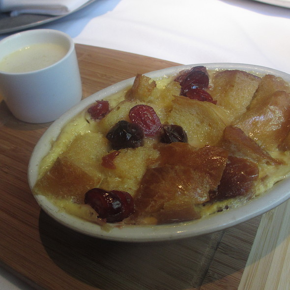 Bread Pudding with Baguette Bread and Brandied Cherries - Cape Cod, Chicago, IL