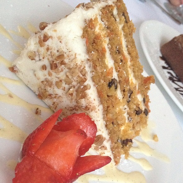 Carrot Cake - James' Beach, Venice, CA