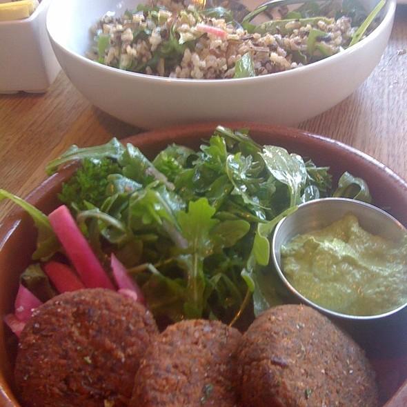 Falafel & Three Grain Salad - Momed - Beverly Hills, Beverly Hills, CA