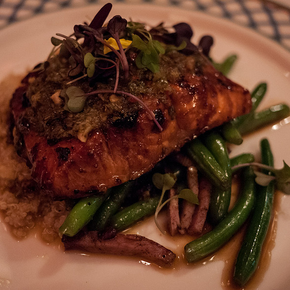 Salmon with Tequila Glaze - Havana, Bar Harbor, ME