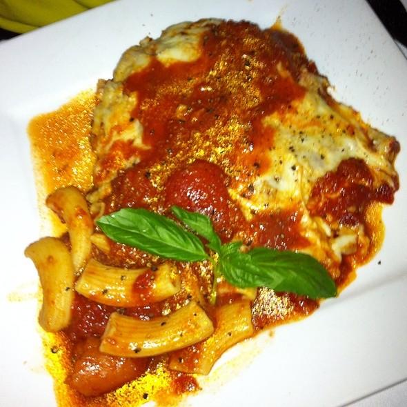 Veal Parmesan - Euno Ristorante, Boston, MA