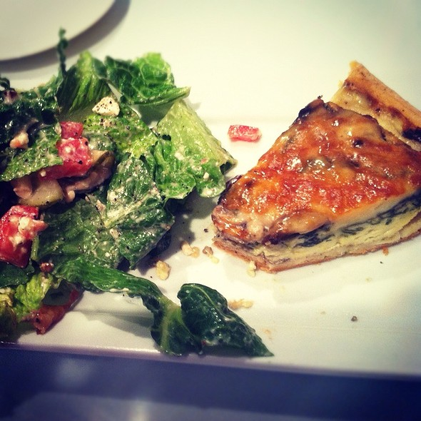 Quiche - Collector's Cafe, Myrtle Beach, SC