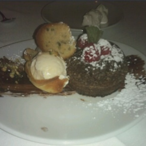 Lava Cake - Fleming's Steakhouse - Brookfield, Brookfield, WI