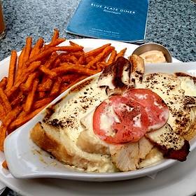 Kentucky Hot Brown - Blue Plate Diner, Edmonton, AB