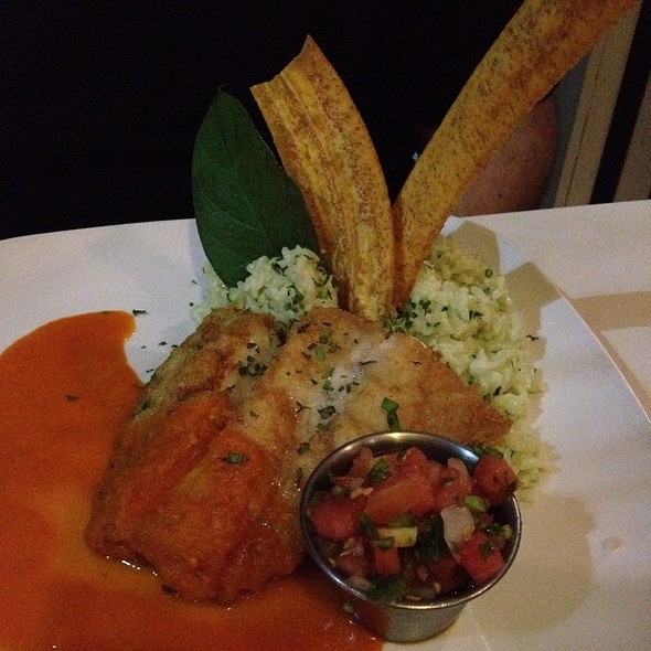 Cuban Corvina With Avocado Coconut Rice - Yuca, Miami Beach, FL