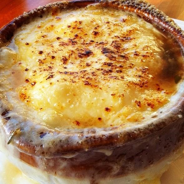 French Onion Soup - Del Ray Cafe, Alexandria, VA