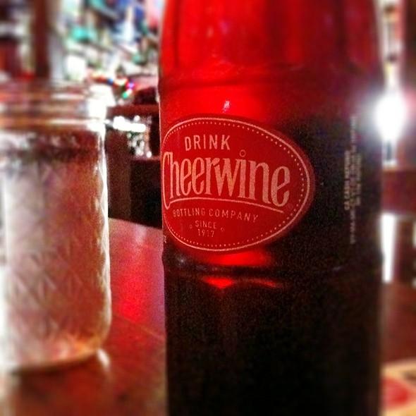 Cheerwine Cherry soda - Brother Jimmy's - Union Square, New York, NY