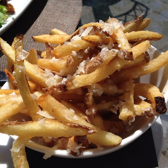 Truffle Pomme Frites - Quails' Gate Estate Winery - Old Vines Restaurant, Kelowna, BC