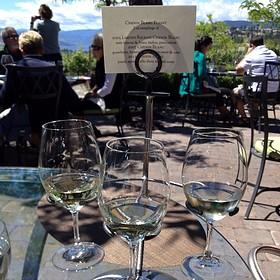 Chenin Blanc Wine Flight - Quails' Gate Estate Winery - Old Vines Restaurant, Kelowna, BC