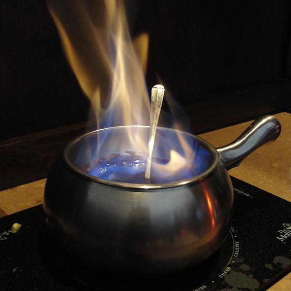 Flaming Turtle Fondue - The Melting Pot - Reston, Reston, VA