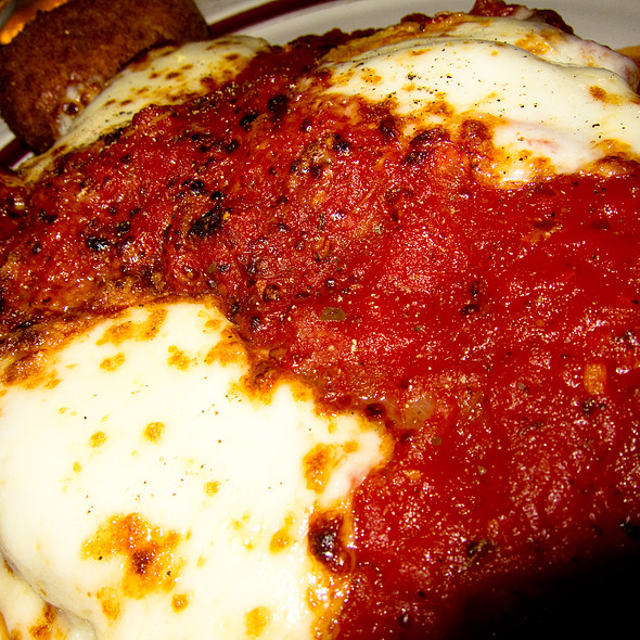 Veal Parmesan - Il Cortile Restaurant, New York, NY