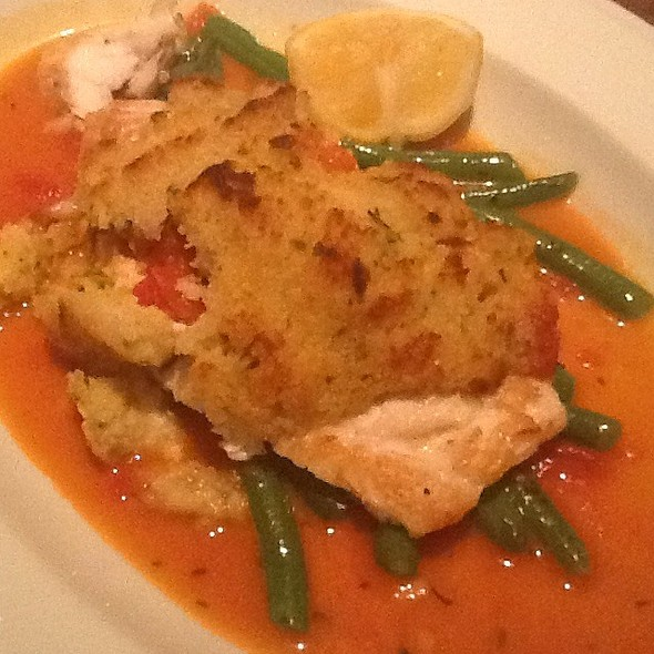 Horseradish Crusted Whitefish - Di Pescara, Northbrook, IL