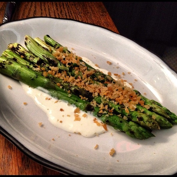 Grilled Asparagus - Tipsy Parson, New York, NY