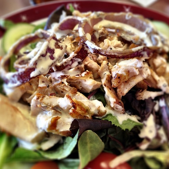 Chicken Lime Salad - Lemongrass Fusion Bistro, Columbus, OH