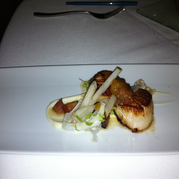 Dayboat Scallops - Alexander's Steakhouse - SF, San Francisco, CA