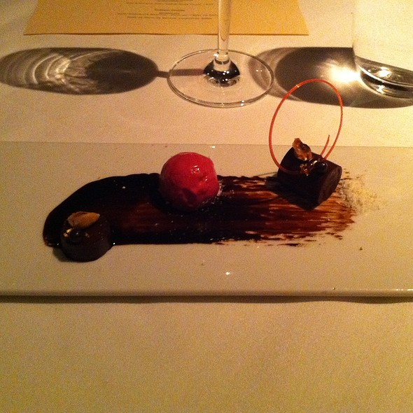 Chocolate Course - Alexander's Steakhouse - SF, San Francisco, CA