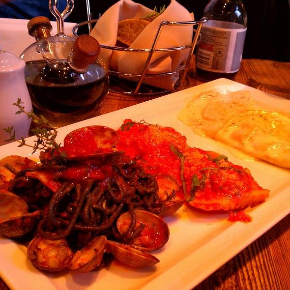 Crab n Seafood Ravioli - Zio Cecio, Dallas, TX