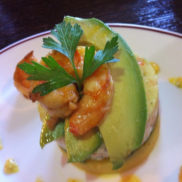 Shrimp Causa - Cafe Secret, Del Mar, CA