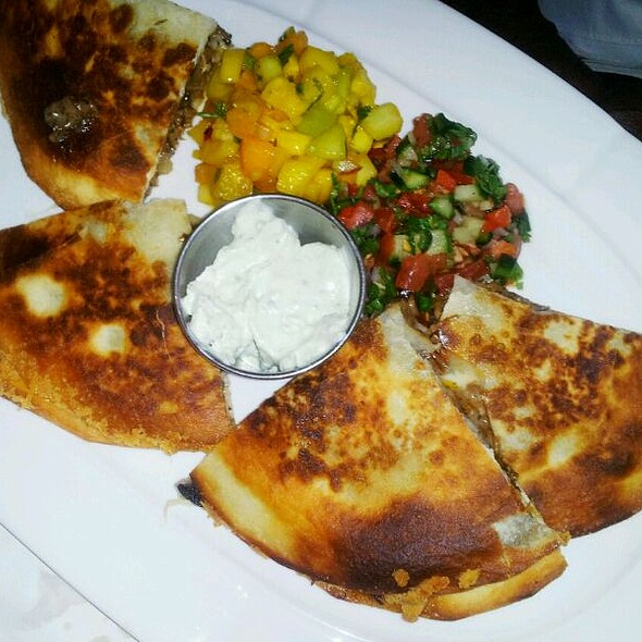Beef Short Rib Quesadilla - West End Cafe, Carle Place, NY