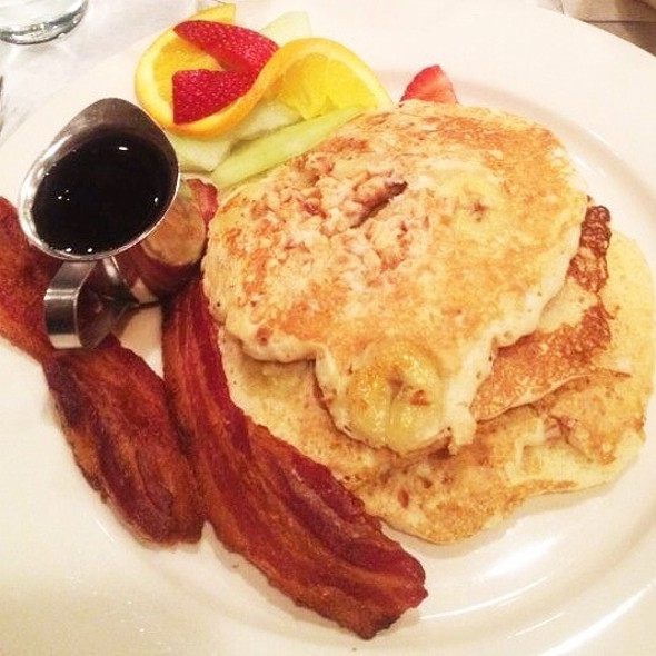 Banana Walnut Pancakes - Tavern on Jane, New York, NY