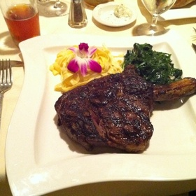 USDA Prime Black Angus Rib Eye Steak - Vigilucci's Seafood & Steakhouse, Carlsbad, CA