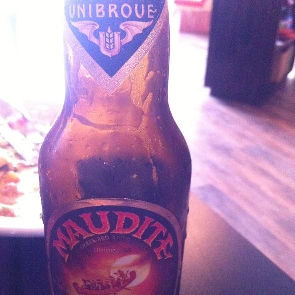La Maudite Beer - La Margarita Restaurant & Bar, Indianapolis, IN