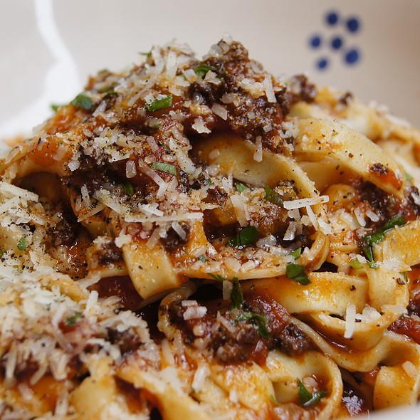 Fettuccine Alla Bolognese - Il Brigante Restaurant, New York, NY