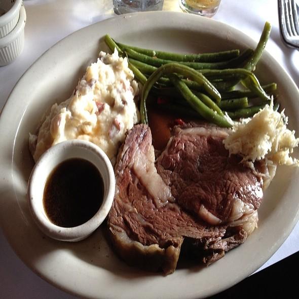 Prime Rib - Scott's Bar & Grill, Edmonds, WA
