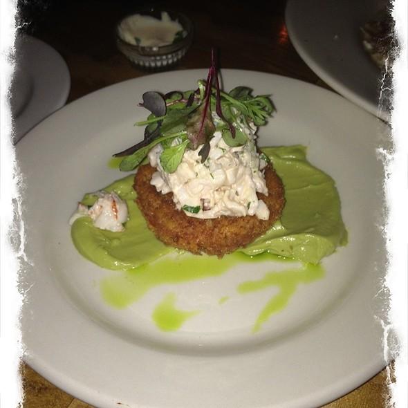 Lobster Salad, Fried Tomato & Avocado Puree - Anneke Jans, Kittery, ME
