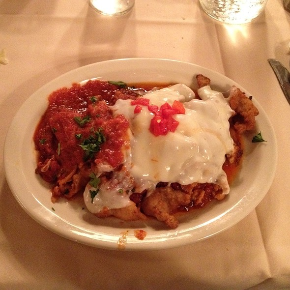 Eggplant Parmigiana With Veal - Sabatino's, Baltimore, MD