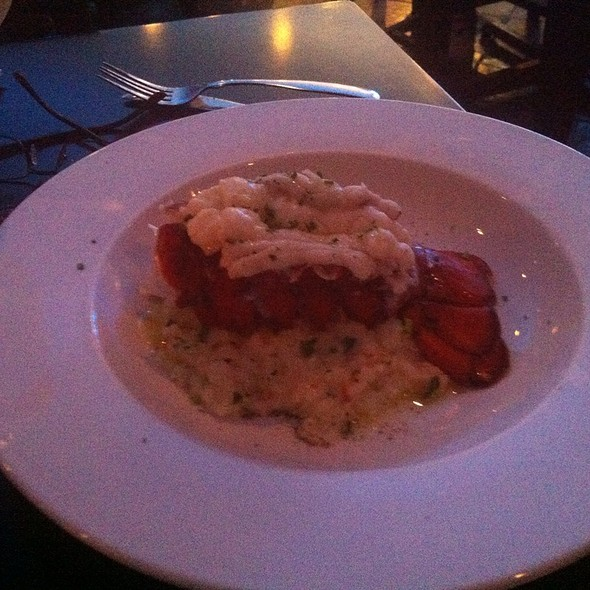 Lobster Risotto - Saltwater Grill, Galveston, TX