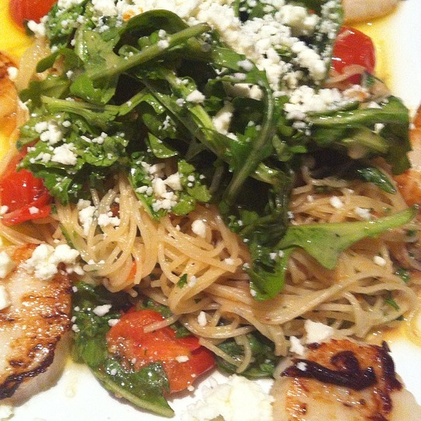 Scallop And Arugula Pasta - Johnny's Italian Steakhouse - Middleton, Middleton, WI